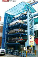 Smart Parking, Mechanical Parking, Automated Parking, Automated Parking System, Parking System